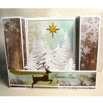 Carte de Noel Memory Box